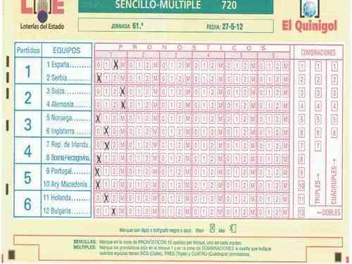 Resultados de la 55ª jornada de La Quiniela 6